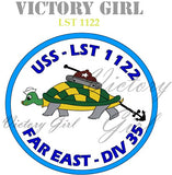 D1225 LST decal patch
