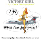 D1352 I Fly What's your Superpower