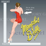 D1396.1 Memphis Belle with Text