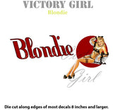 D1408 Blondie II Nose Art-