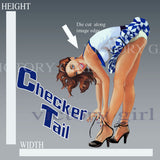 D1414 Checker Tail