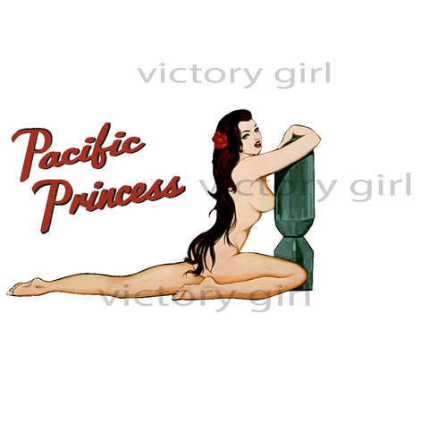 Vintage pin up girl decals, girls making out fingering