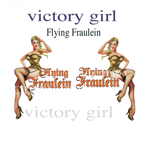 D1446LR  Flying Fraulein