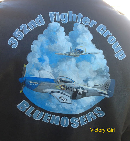 JP Blue Nosers 352nd Fighter Group