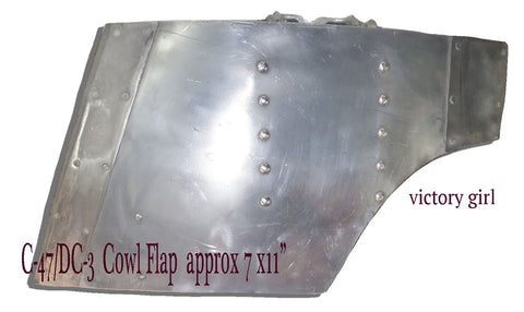 C-47 Cowl Flaps -Assorted  Approx 7x11""