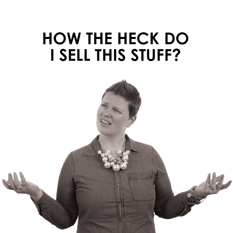 How the heck do you sell art?
