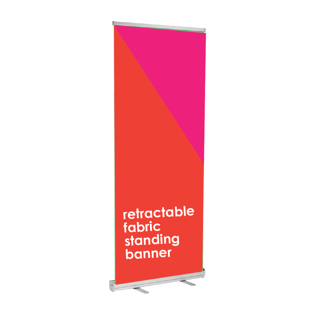 Retractable Fabric Banner Stand