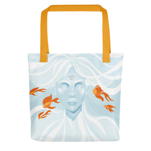 Float on by April Mata | Tote bag