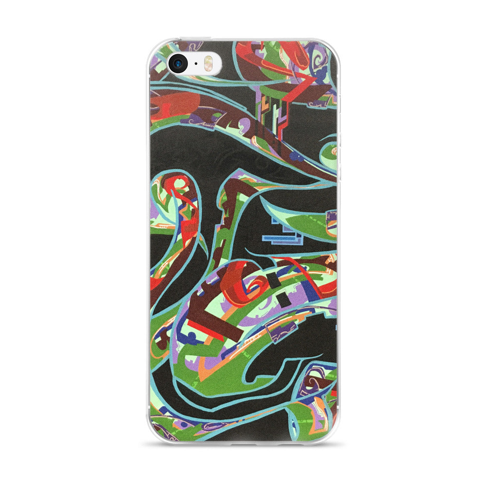 Lounging Woman by Marcos Mata iPhone 5/5s/Se, 6/6s, 6/6s Plus Case