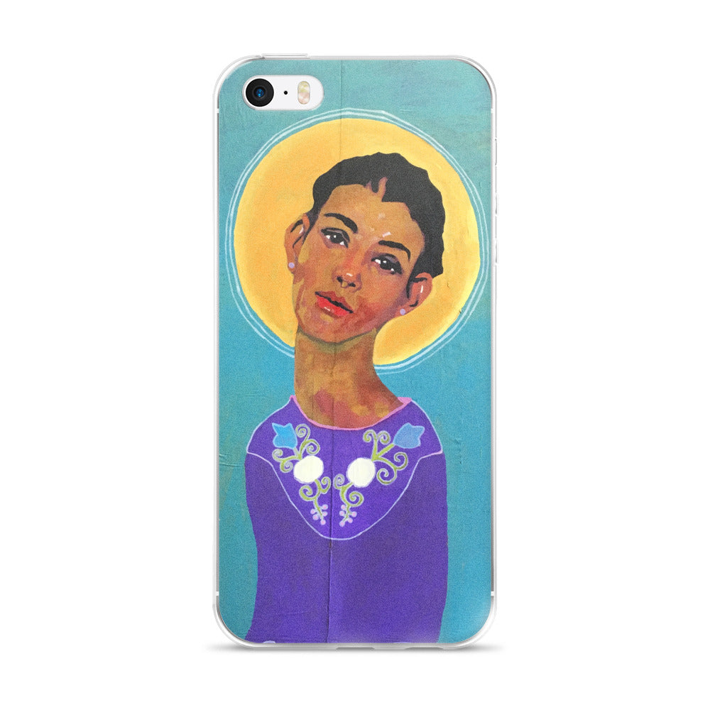 Tuscarora Woman Phone Case: iPhone 5/5s/Se, 6/6s, 6/6s Plus Case