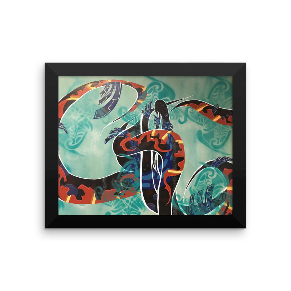 Summer Breeze by Marcos Mata Framed poster
