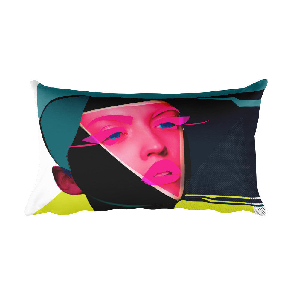 Vivid Rectangular Pillow