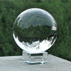 50mm Rare Natural Quartz Crystal Ball Clear Feng Shui Healing Sphere