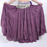 Tribal Bohemia Long Circle Skirt Gypsy Belly Dance