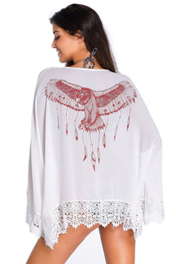 Gypsy Eagle Print Beachwear