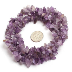 "6mm-7mm Chip Natural Stone Beads For Jewelry Making 34 "" Strand"