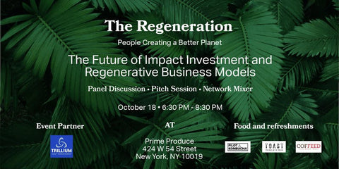 EVENT // The Future of Impact Investment and Regenerative Business Models