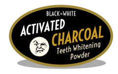 Moko's activated charcoal teeth powder