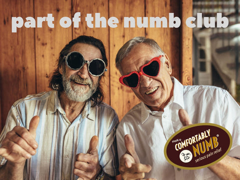 comfortably numb club for seniors