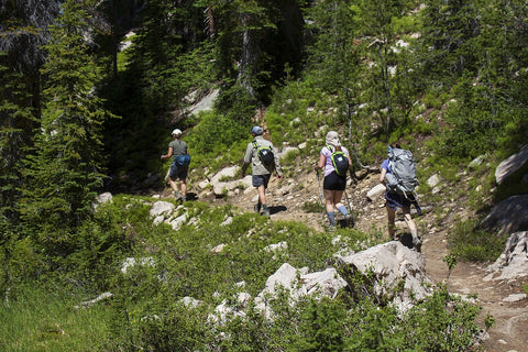 hiking without pain