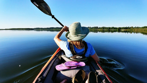 kayaking without pain in shoulders