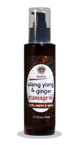 Ylang Ylang & Ginger Massage Oil 5.5 oz