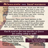 Minnesota Hand Warmers by Moko Organics - St Paul.