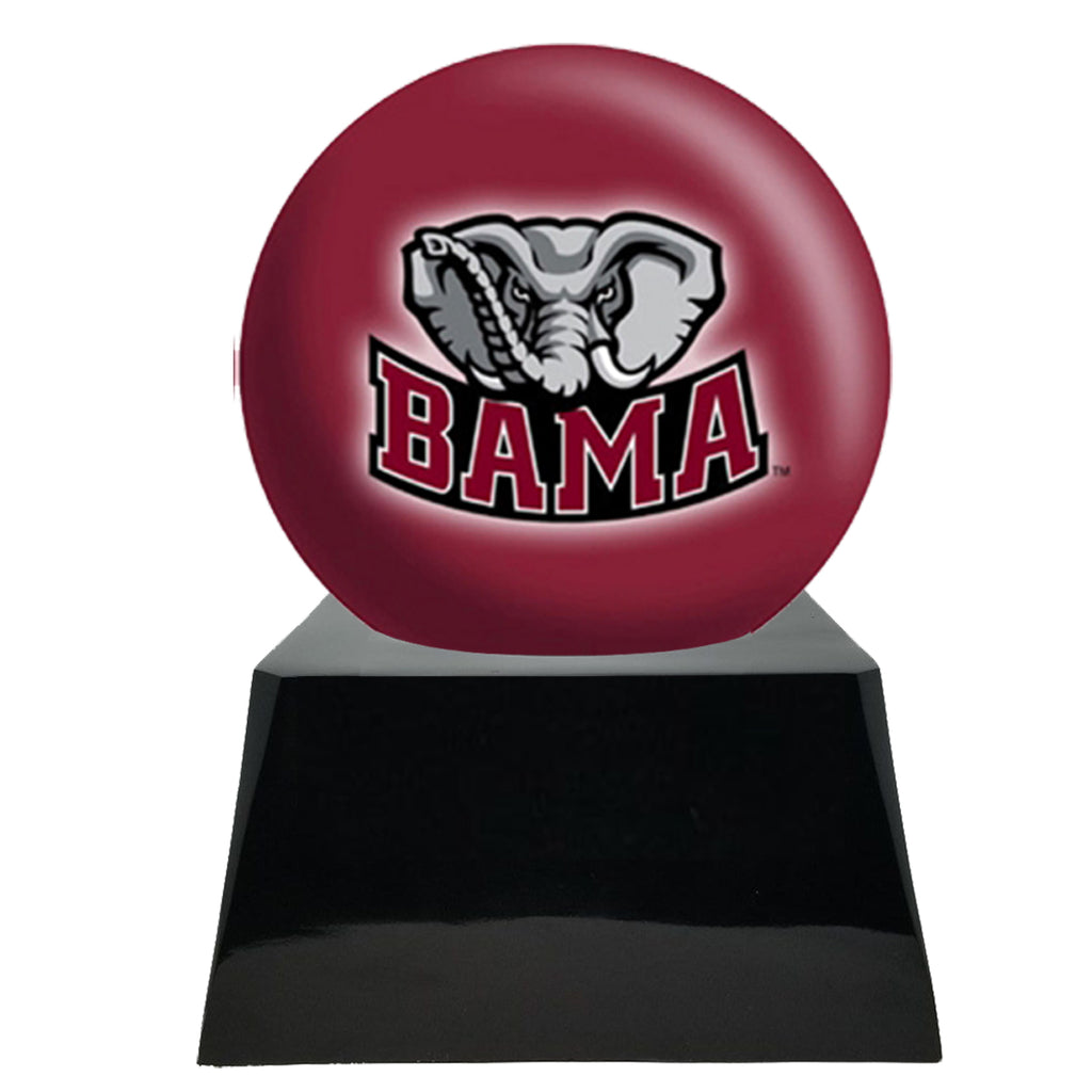 Football Cremation Urn And Alabama Crimson Tide Ball Decor With Cus