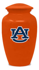 Image of Auburn Tigers Football Cremation Urn - Orange