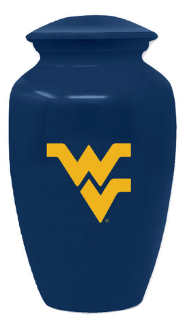 West Virginia Mountaineers Cremation Urn, Sports Urn - Divinity Urns.