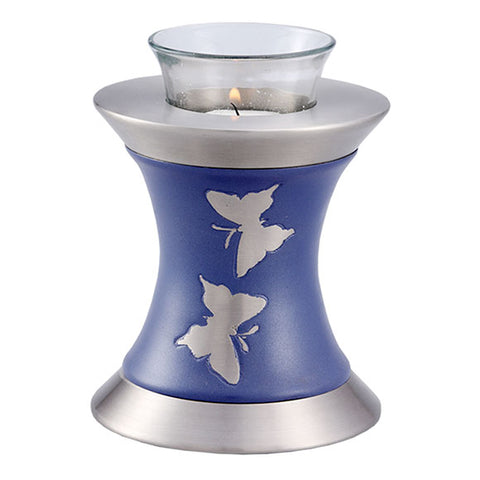 Wings to Eternity Tealight Urn in Lavender, Tealight Urn - Divinity Urns.
