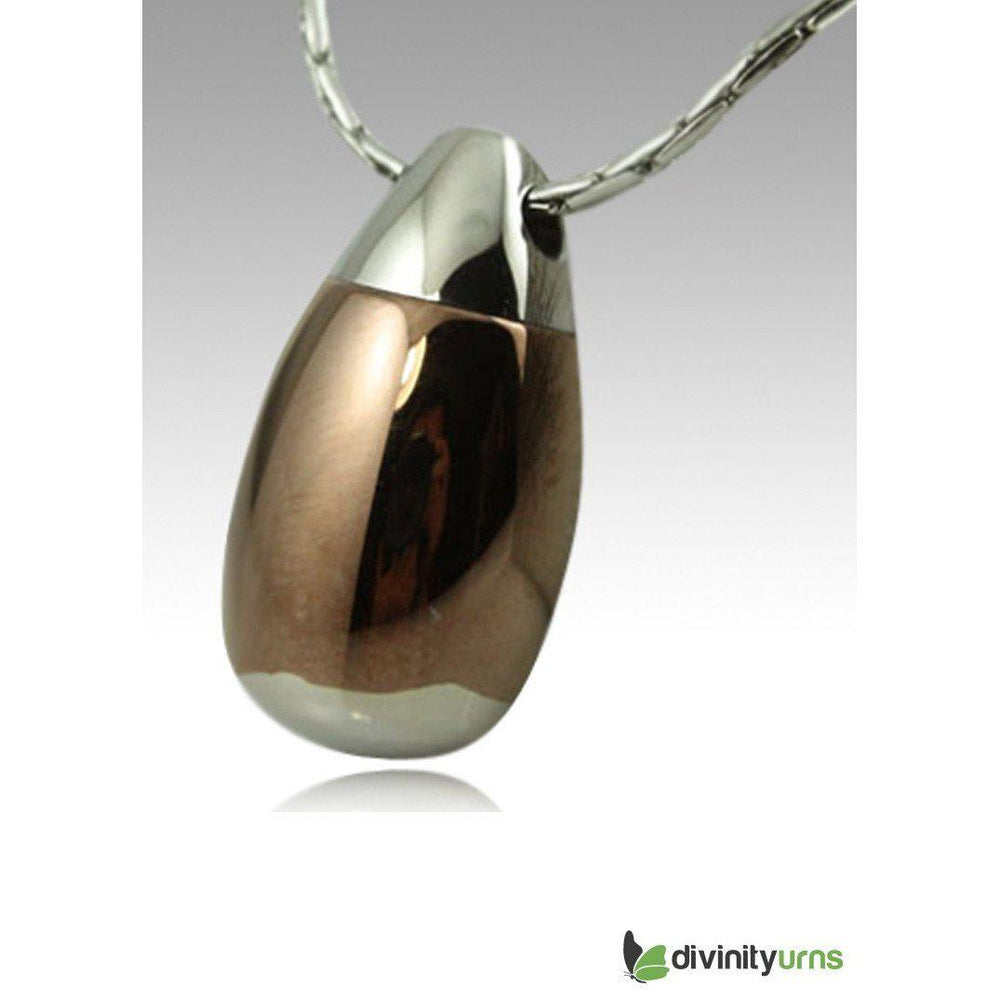 Acorn Cremation Jewelry Pendant