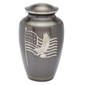 American Honor and Glory Military Cremation Urn, Military Urn - Divinity Urns.