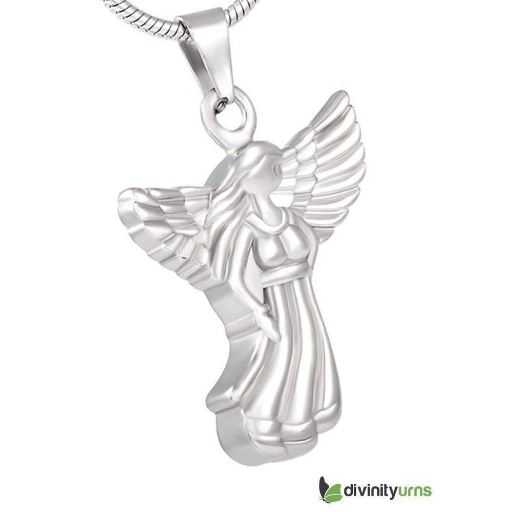 Angel Keepsake Cremation Pendant Jewelry