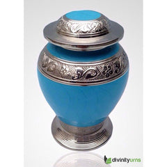 Avondale Blue Infant Cremation Urn, Infant urn - Divinity Urns