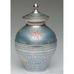 Blue Butterfly Infant Cremation Urn--Divinity Urns