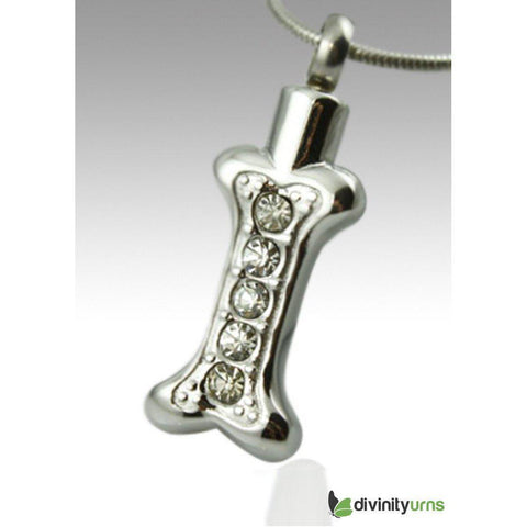 Bone Pet Keepsake Cremation Pendant,  - Divinity Urns.