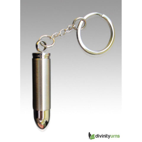 Bullet Stainless Steel Key Chain Keepsake Cremation Jewelry, [product_type] - Divinity Urns