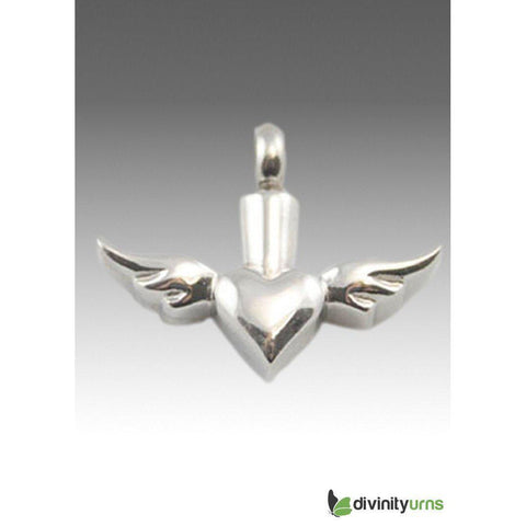 Cremation Stainless Steel Keepsake Pendant, [product_type] - Divinity Urns