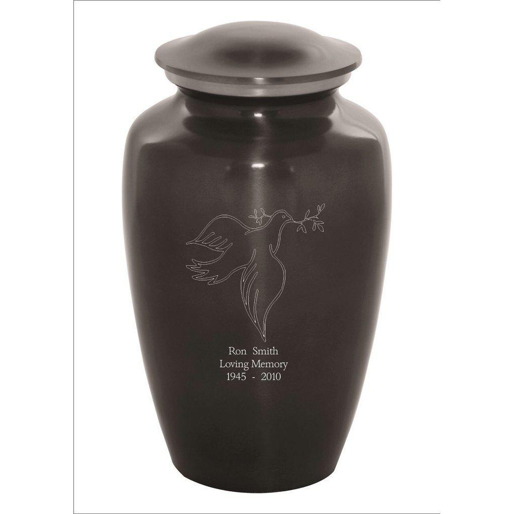 Custom Engraved Dove Sports Urn, Sports Urn - Divinity Urns.