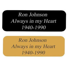 Customized Brass Engraved Name Plates