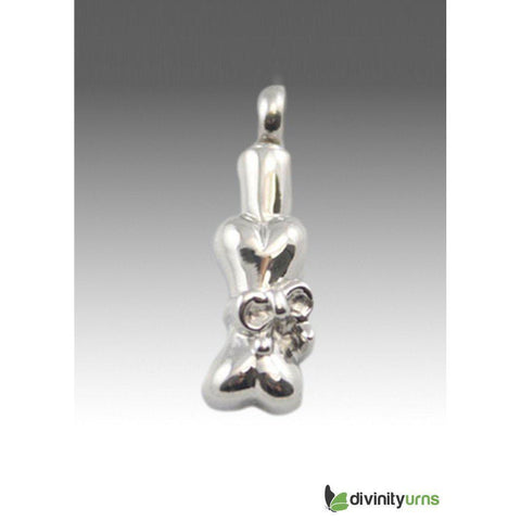 Dog Bone with Bow Keepsake Pendant,  - Divinity Urns.