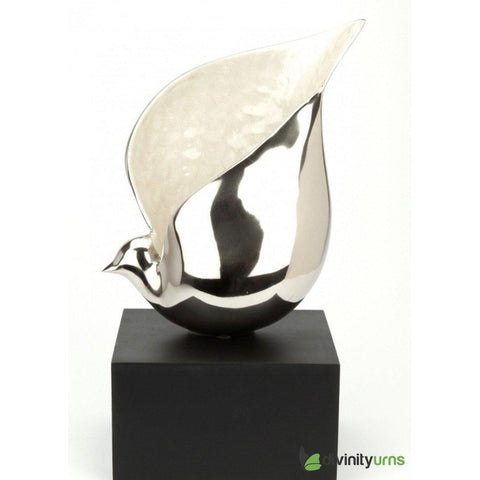 Heavenly Dove Art Sculpture Urn, Urn For Human Ashes - Divinity Urns