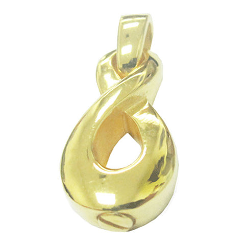 Infinity Cremation Jewelry - Gold Plated, Jewelry - Divinity Urns.