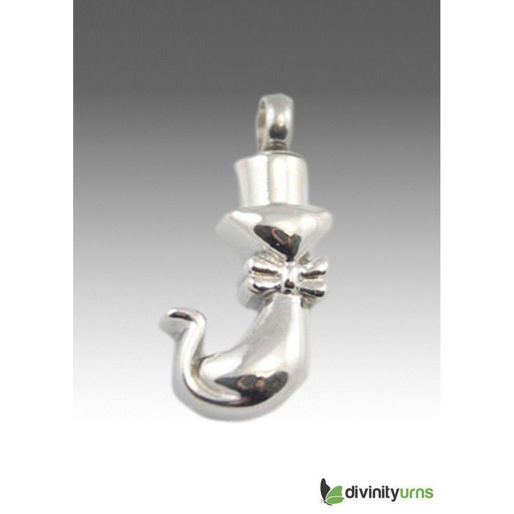 Kitty Pet Cremation Pendant, [product_type] - Divinity Urns