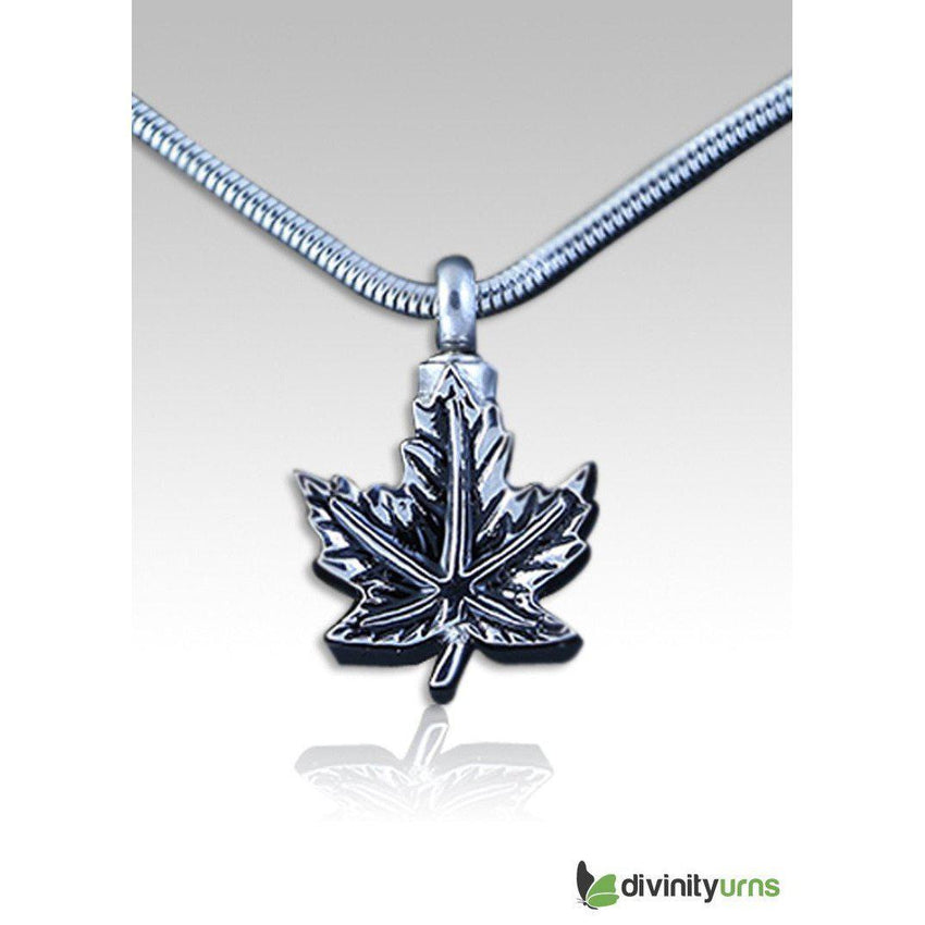 Maple Leaf Pendant--Divinity Urns