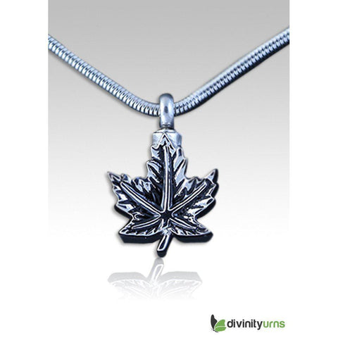 Maple Leaf Pendant, [product_type] - Divinity Urns