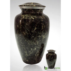 Midnight Gold Alloy Cremation Urn, Alloy Urns - Divinity Urns