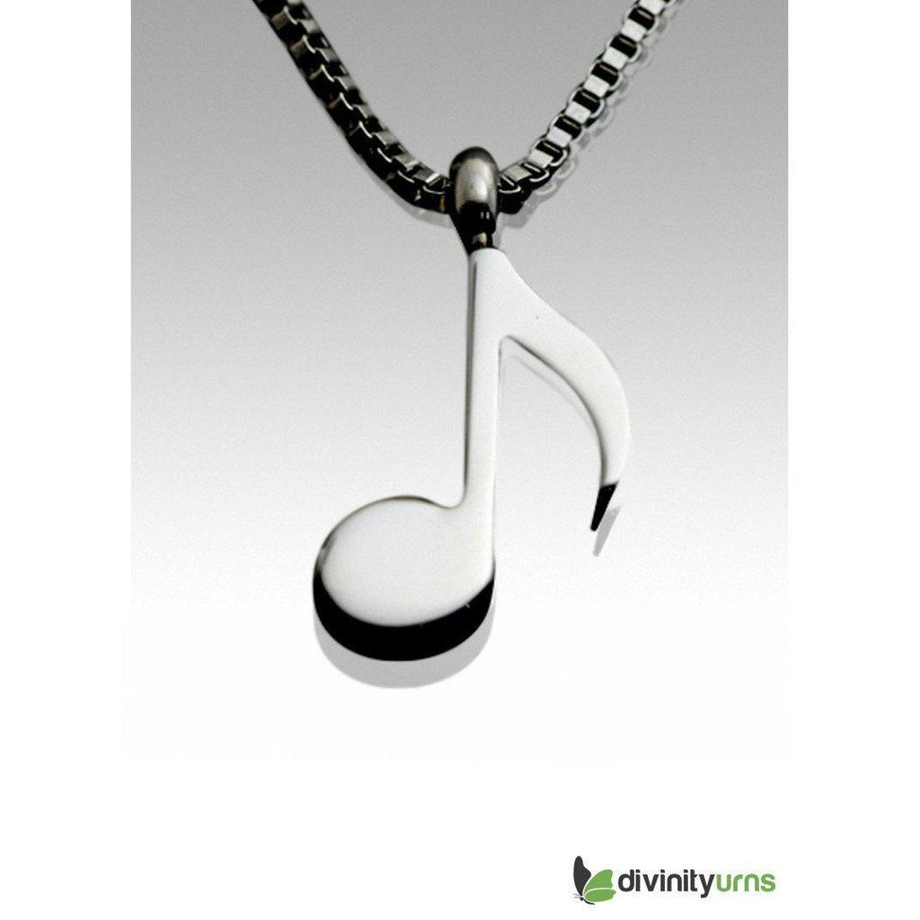 Musical Note Pendant,  - Divinity Urns.