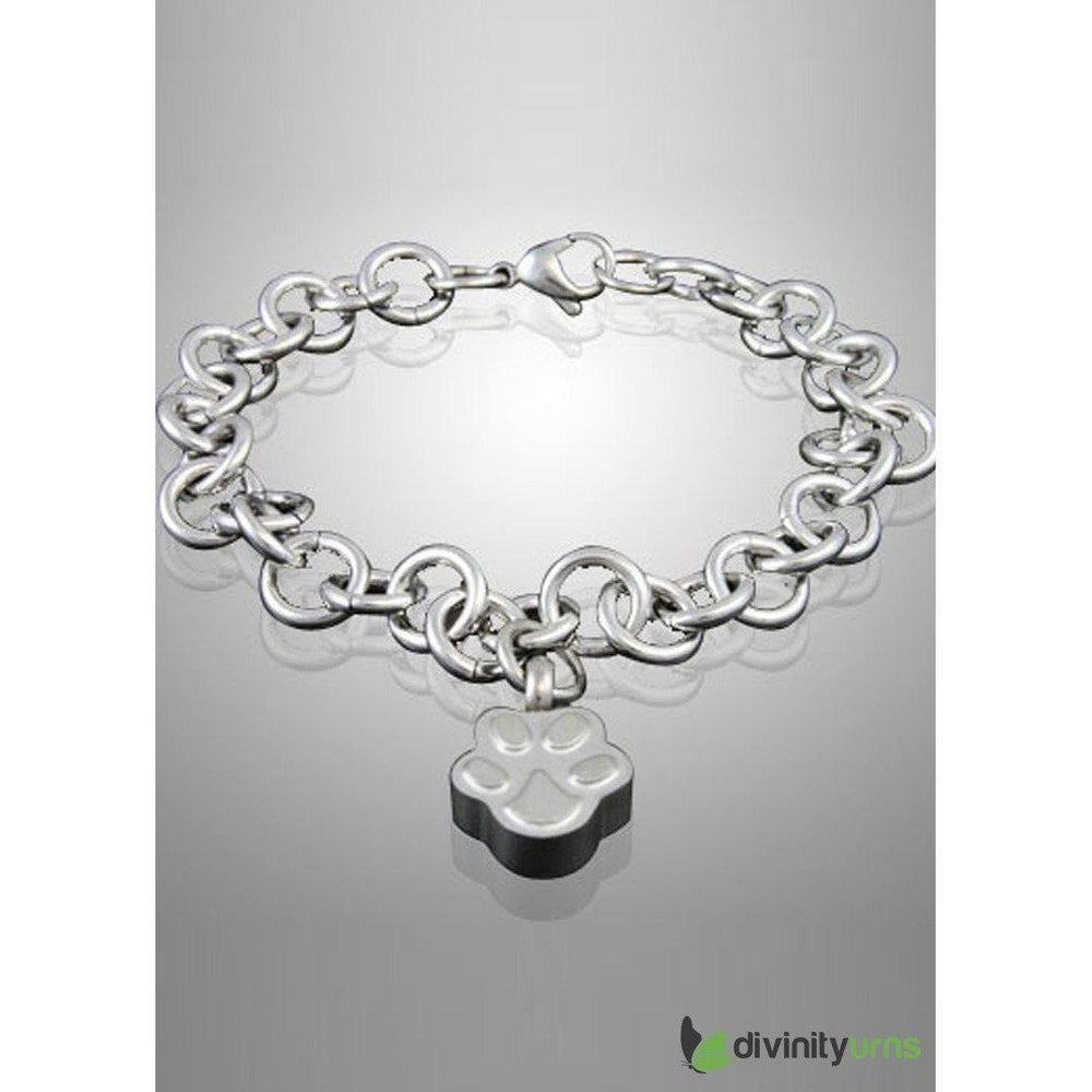 Paw Cremation Keepsake Bracelet